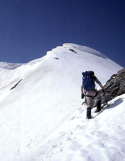 Stevens Peak, North Ridge.