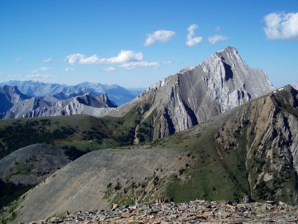 Looking N From Volcano Peak