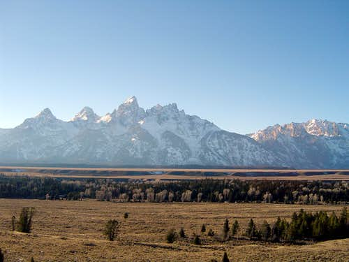 Morning Teton