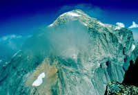 Pizzo Cengalo summit from W