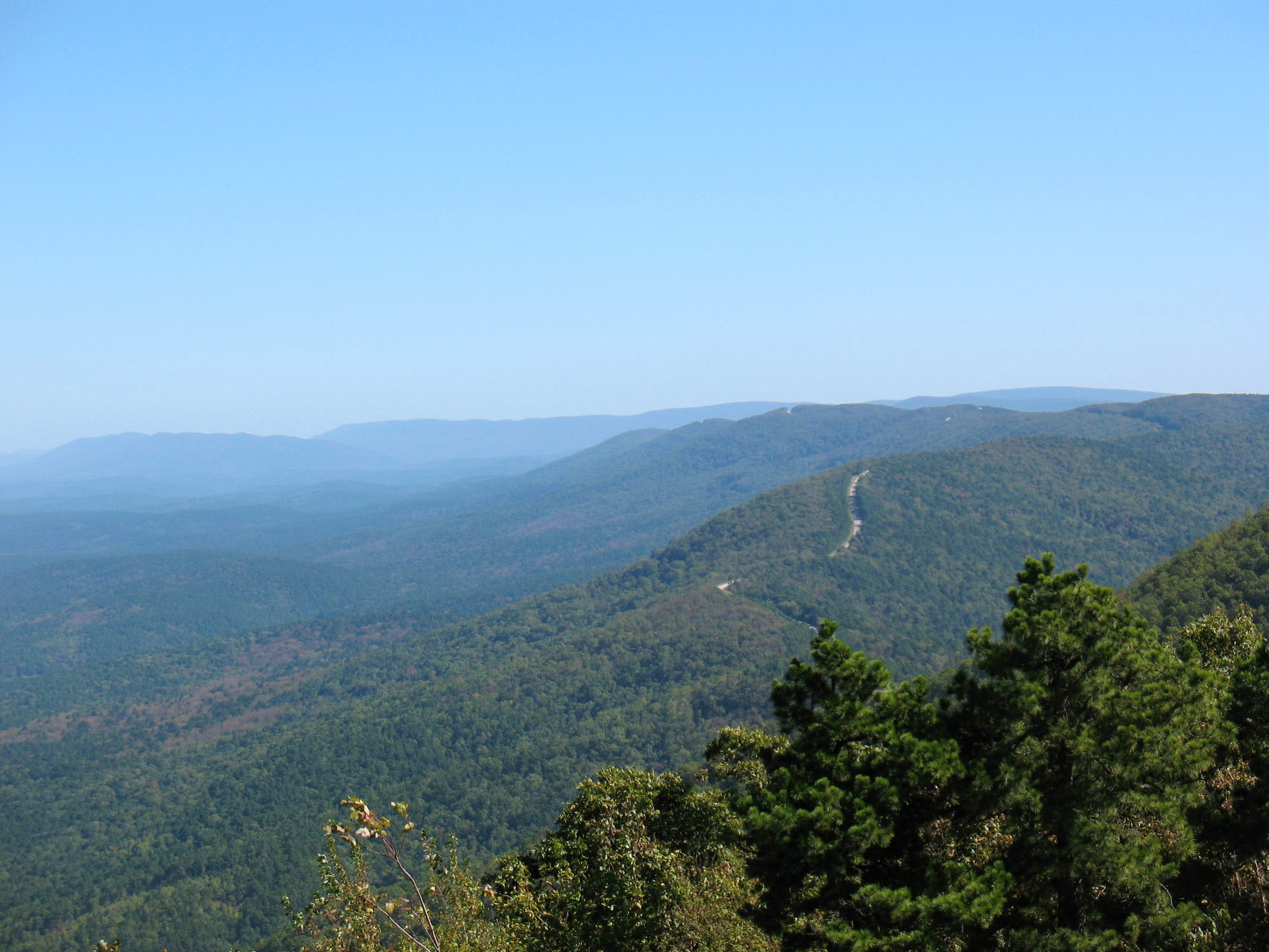 Skyline Drive in the SouthWest