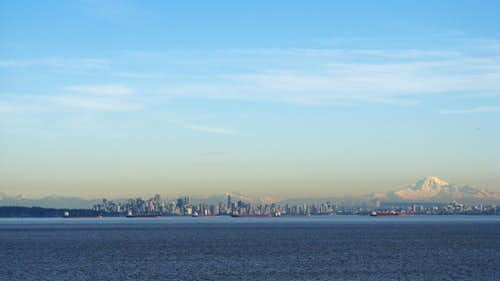Vancouver and Mt. Baker