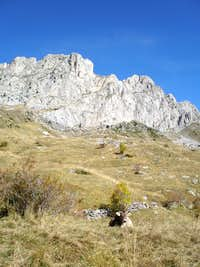 Normal route - collado del Forato