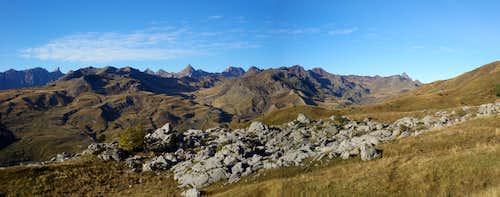 Westwards panorama