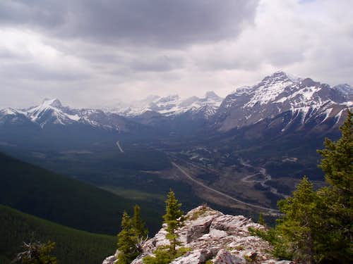 Looking South Down Kananaskis Valley