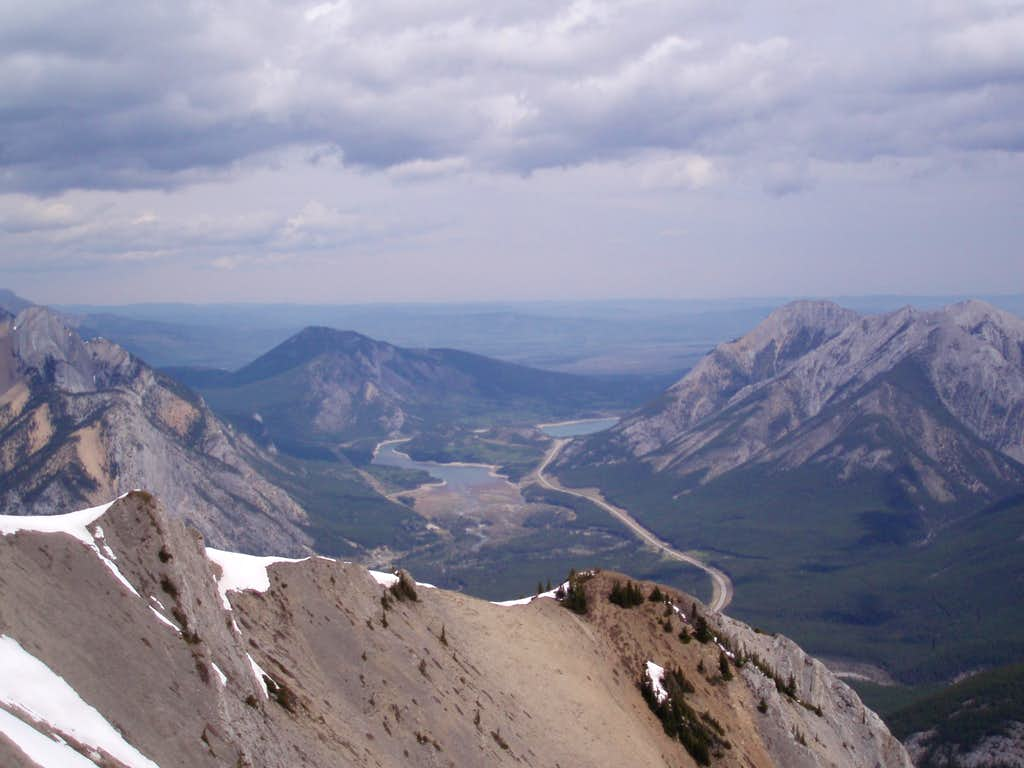 Looking North From Wasootch Summit
