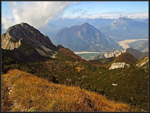 Monte Chiampon view