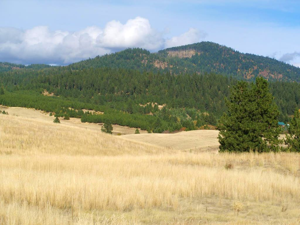 Moscow Mountain from south