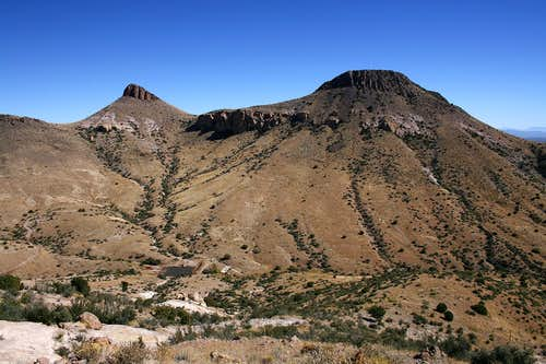Berrenda Mountain North and South