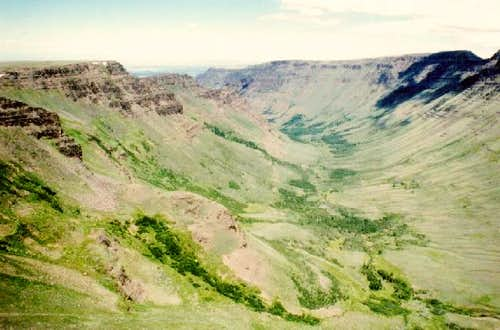 Kiger Gorge from the Steens...
