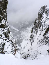 Dragon's Tail Couloir in RMNP