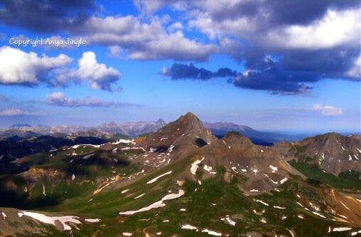 View of Wetterhorn Peak
