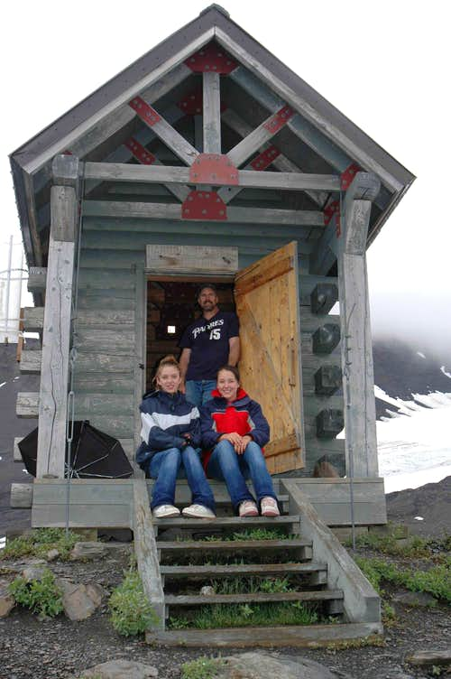 Harding Ice Field Shelter