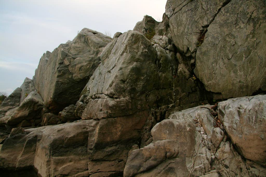 Echo Rock-- Start of Downstream Traverse