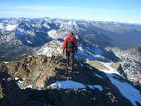 S. Ingalls summit ridge