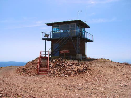 Burney Mountain Lookout Tower