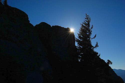 The summit of Sleeping Beauty