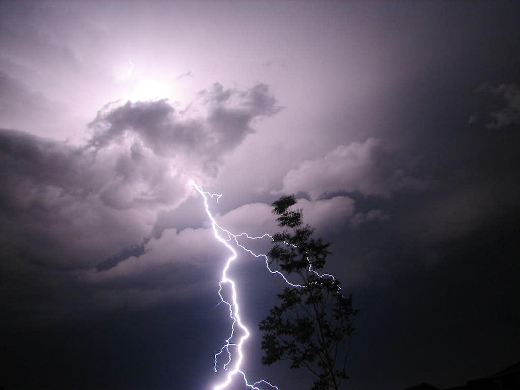 Lightning over Meridian