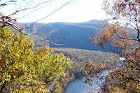 Sugarloaf Knob from the Laurel Highlands Trail Yough Overlook