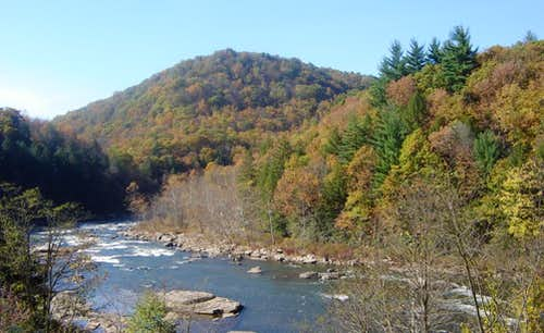 Lower Yough (below falls) Most Popular Whitewater east of the Mississippi