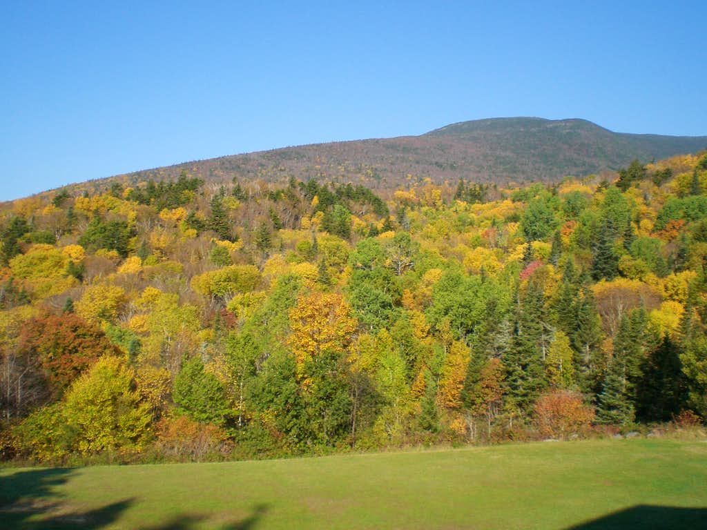 South Moosilauke from Lodge