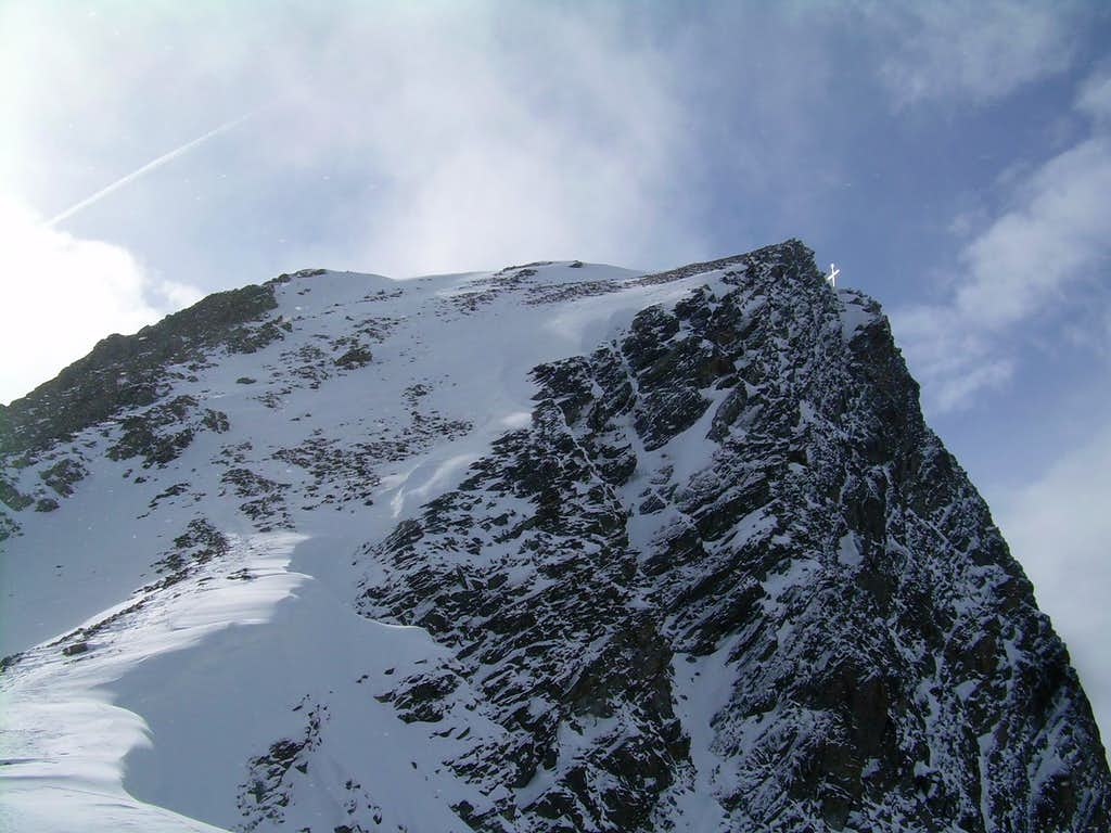 The summit of the Glockturm