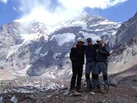 Aconcagua 6960m south face, Argentina