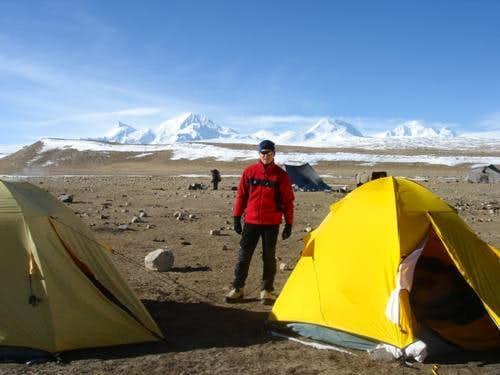 Shisha Pangma base camp 5000m, Tibet