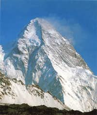 K2 from North, an extremely...