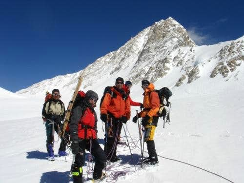 7000m on Shisha Pangma, Tibet