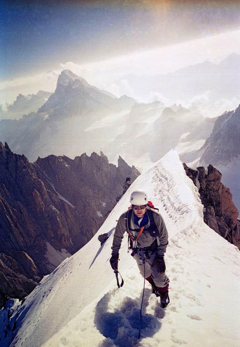 Kuffner Ridge, Mount Maudit