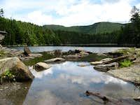 Sterling Pond and Madonna Peak