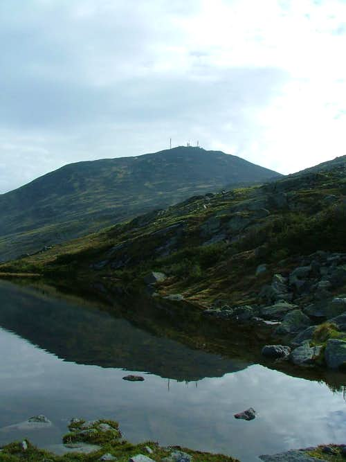Mount Washington over Lakes of the Clouds