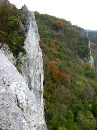 de rots verderop