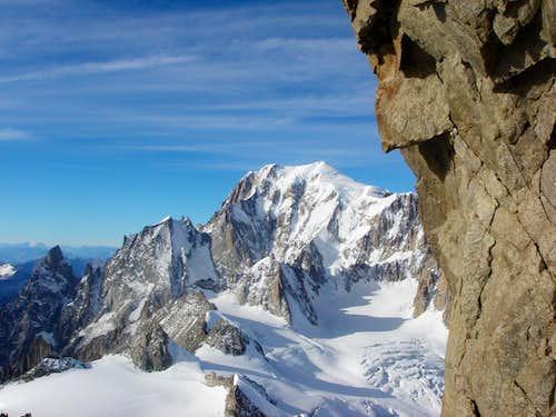 View towards Mont Blanc