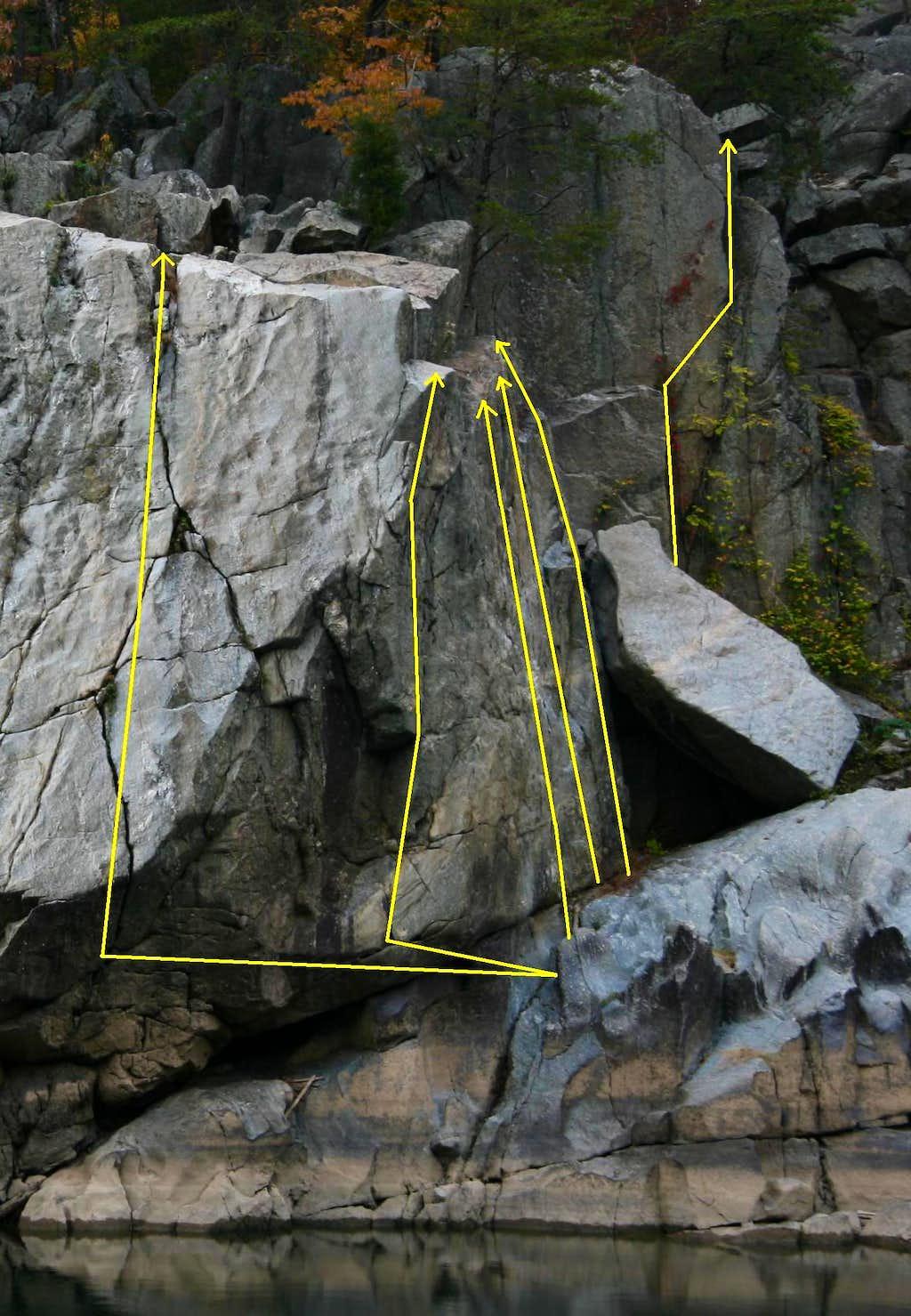 Spitzbergen-- Route Diagrams