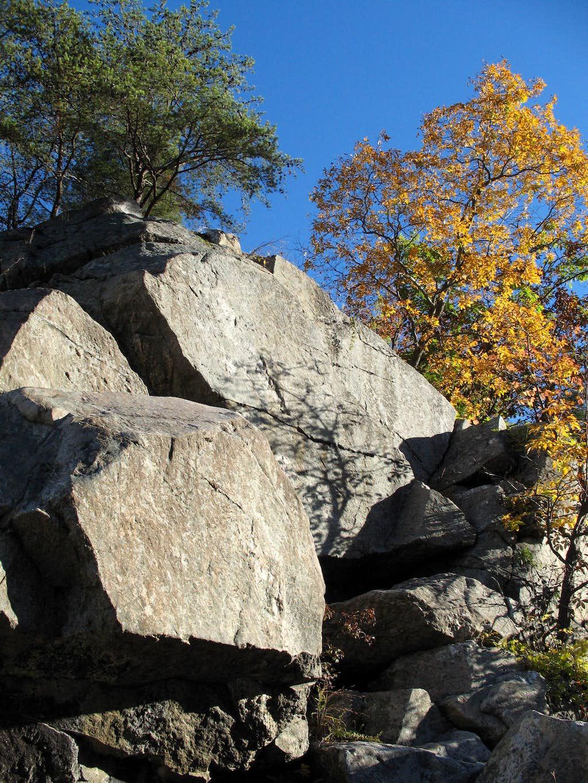 Spitzbergen-- Outcrops and Autumn Color