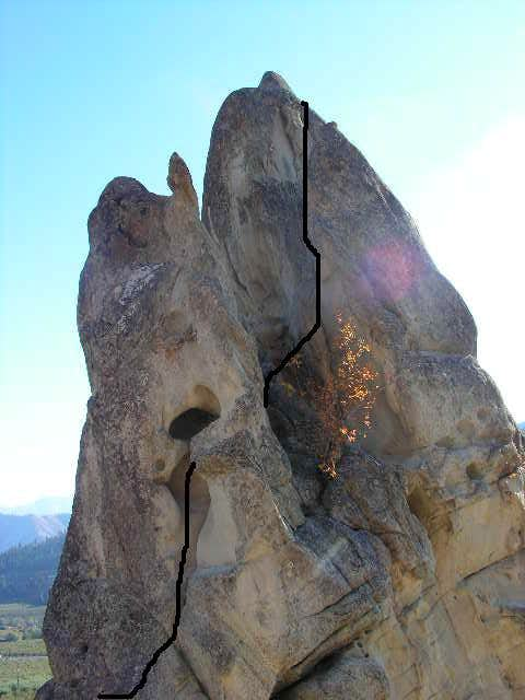 Tunnel Route line
