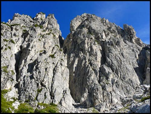 Monte Siera - South faces