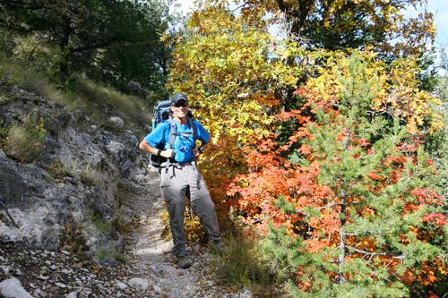 Guadalupe Peak Fall Colors
