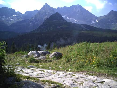 Koscielec-mystical summit in High Tatras