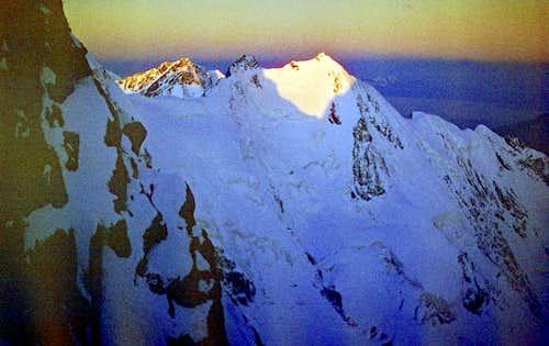 Dawn on Ortokara (4250 m)