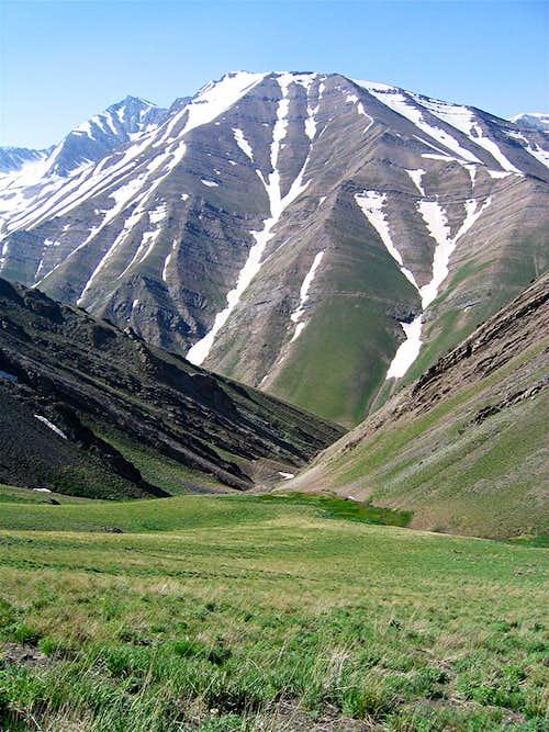 Kholeno (Paloon Gardan) Massif