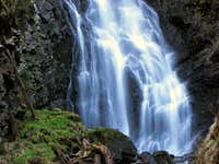 Stoder waterfall in Niedere Tauern