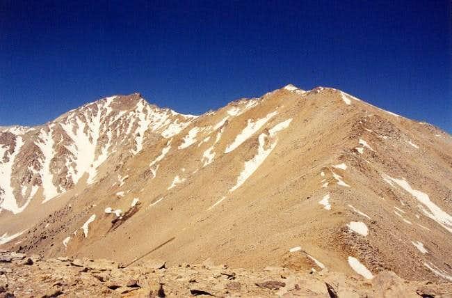 Montgomery Peak, CA (left)...