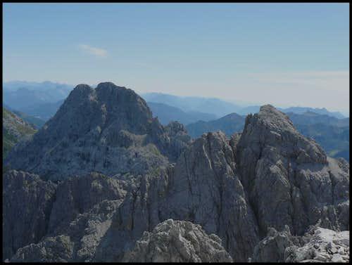 Monte Siera - summit views