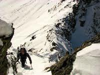 West ridge of Waldhorn (2702m)