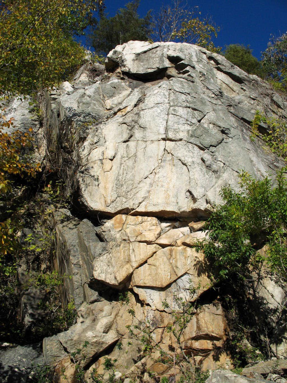 Sherwin Island Crags