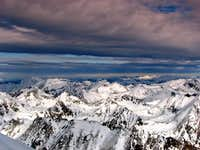 Summit view from Preber (2741m)