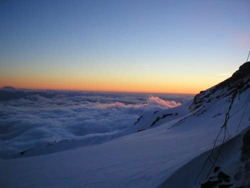 Sunset from Camp Muir